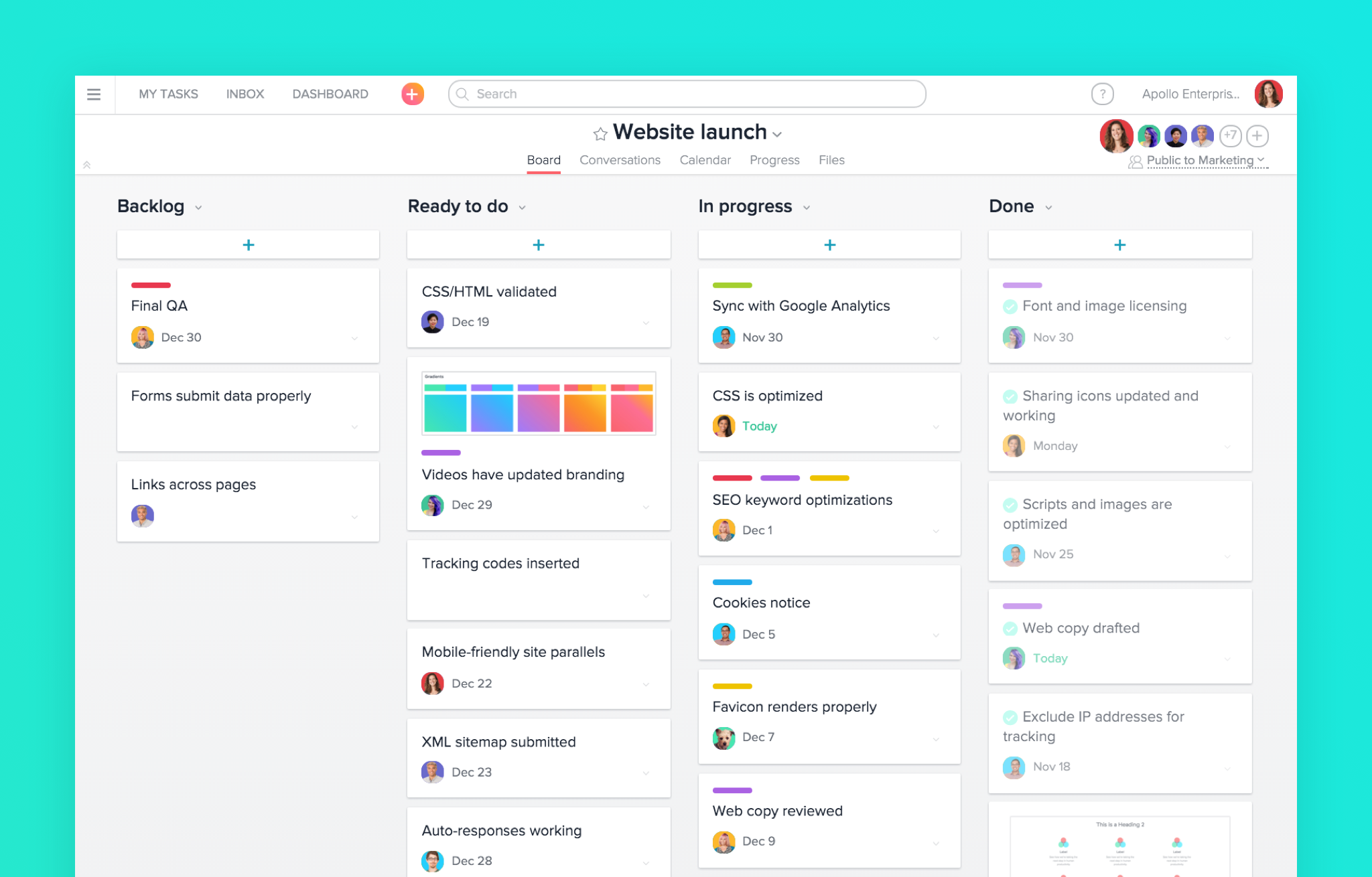 Asana - Tools For Entrepreneurs - MyStartupLand