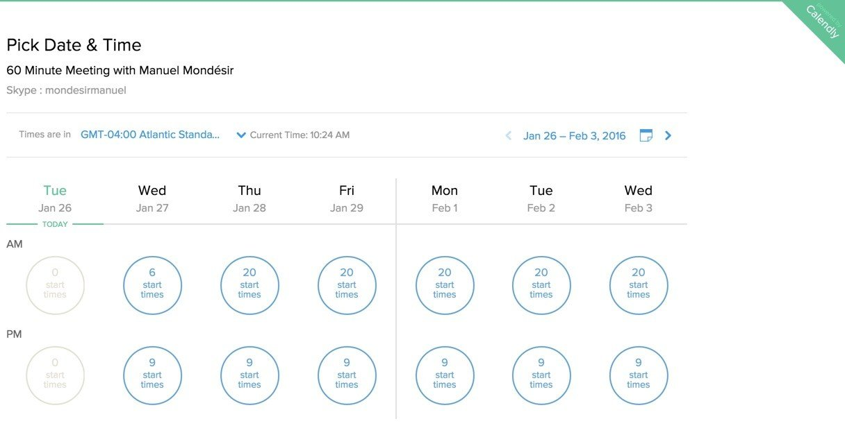 Calendly - Tools For Entrepreneurs - MyStartupLand