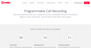 Twilio Programmable Voice